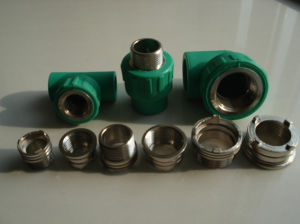 High Quality Low Price Green Color PPR Pipe Fittings pictures & photos