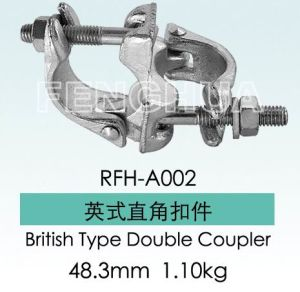 British Type Double Coupler (RFH-A002) pictures & photos