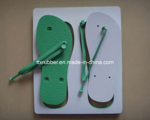 Customer DIY Printing Blank Rubber Slipper pictures & photos