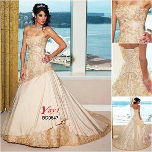 Bridal Wedding Dress, Beach Wedding Dress (BD0547)