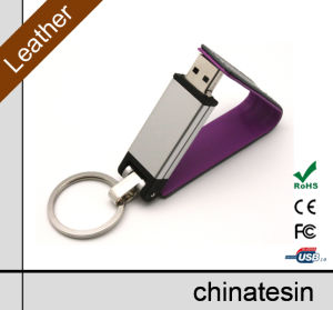 4GB Leather Flash Memory