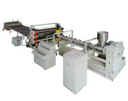 PE/PP Thick Board Production Line with CE Certified (SJ65/30) pictures & photos