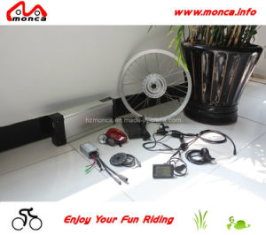 Electric Bicycle Kits CE Approved Silver Alloy Li-ion Battery pictures & photos