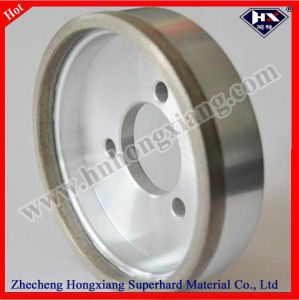 Continuous Abrasive Sharpening Metal Bond Diamond Grinding Wheel pictures & photos