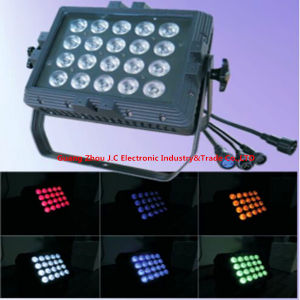 20*15W RGBWA 5in1 Waterproof LED PAR Lighting/ LED Flood Lighting pictures & photos