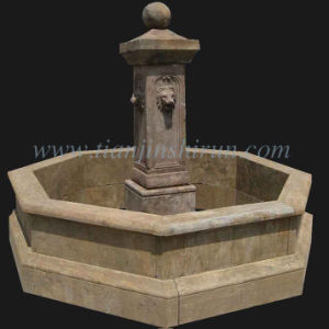Antique Marble Carving Fountain (HA1010) pictures & photos