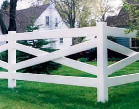 PVC Fencing (Crossbuck)