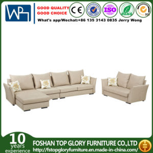 L-Shape Simple Corner Fabric Sofa for Living Room (TG-9179) pictures & photos