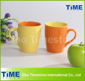Hot Sale Color Glazed Coffee Ceramic Mug pictures & photos