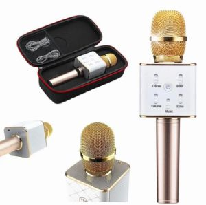 2017 Hot Q7 Portable Bluetooth Wireless Microphone with Speaker
