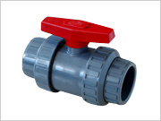 U-PVC True Union Ball Valve/Double Union Ball Valve DIN/JIS/ANSI Standard