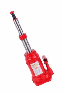Hydraulic Double RAM Bottle Jack ZW0404SH pictures & photos