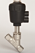 Pneumatic Thread Angle Seat Valve of PA Head pictures & photos