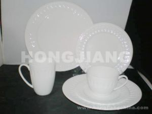 Bone China Dinner Set (HJ068009) pictures & photos