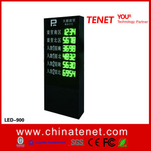 Multi Floor Available Parking Spaces LED Display for Parking Guidance System