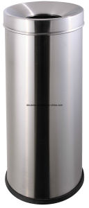 Round Stainless Steel Wate Bin (DK78) pictures & photos