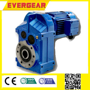 Hollow Shaft Output Helical Gear Parallel Shaft Gearbox Reducer pictures & photos