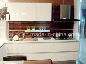 High Gloss Lacquer Kitchen Cabinet (Simple Space)