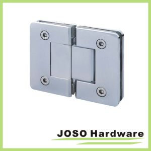 180 Degree Glass to Glass Brass Mount Shower Hinge pictures & photos