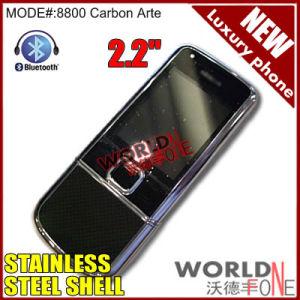 New Cell Phone 8800 Sapphire Arte Carbon (8800 Carbon Arte)