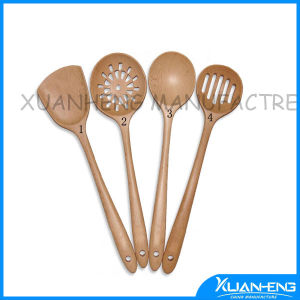 4PCS Wooden Spoon Set with Kithen pictures & photos