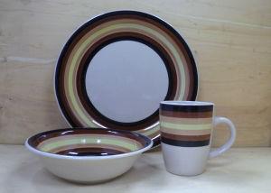 12PCS Ceramic Hand Painted Dinnerware Set (WSY1026S)