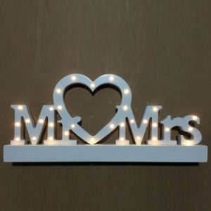 LED Lighted Marquee Sign Wooden Alphabet Letters pictures & photos