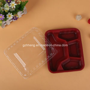 Customized Plastic Restaurant Fast Food Tray (PP food container) pictures & photos
