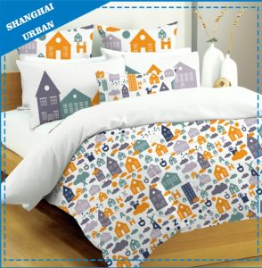 4 PCS Kids Cotton Duvet Cover (set) pictures & photos