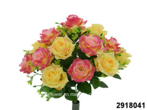 Artificial/Plastic/Silk Flower Rose Bush (2918041) pictures & photos