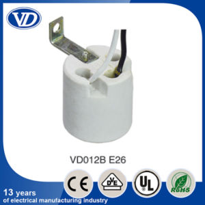 E26 Ceramic Socket with Bracket and Wire pictures & photos
