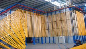 Aluminium Powder Coating Line Vertical Type pictures & photos