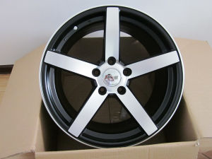 Vossen CV3 Alloy Wheel with Matt Black Machine Face pictures & photos