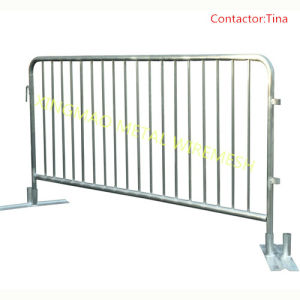 Removable Foot Crowd Control Barriers/Crowd Temporary Fence Panel Barriers (XMC13) pictures & photos