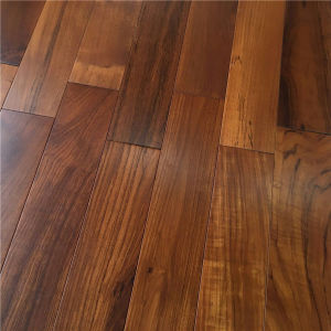 Chinese Manufacture Natural Oiled Burma Teak Hardwood Flooring pictures & photos