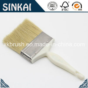 Natural Bristle Paint Brushes with Plastic Handle pictures & photos