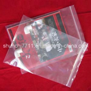 Transparent Palstic Thick Zipper Bag pictures & photos