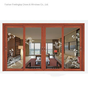 Powder Coating Thermal Break Aluminium Window (FT-W126) pictures & photos