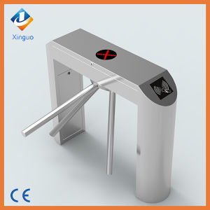 Factory Price 304 Stainless Steel Card Read Tripod Turnstile Gate pictures & photos