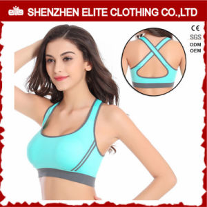 Custom Design Cup Sizes Sport Bra Zip in Front pictures & photos