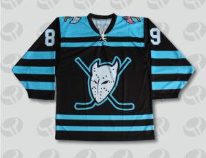 Hot Custom Design Skull Logo Fashion Ice Hockey Jersey pictures & photos