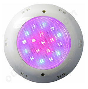 China 2015 New 18x3w Led Swimming Pool Underwater Light Ip68 Pool Light Low Voltage 12v
