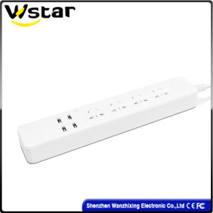 4 Way Power Extension Socket Outlet 250V pictures & photos