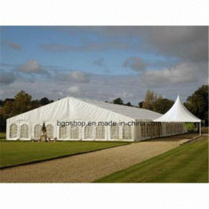 PVC Coated Tarpaulin Sunshade Tent Fabric (1000dx1000d 23X23 750g) pictures & photos