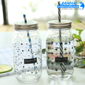Glass Drinking Wide Mouth Mason Jar pictures & photos