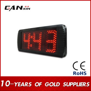 [Ganxin] 5inch 3digit Semi-Outdoor Usage LED Digital Screen Timer Countdown Timer pictures & photos