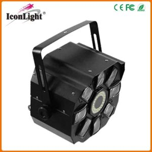 Newest 4*3W RGBWA LED Moonflower Stage Effect Light (ICON-A039E) pictures & photos