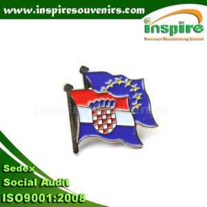 Croatia Customized Metal Badge for Collection pictures & photos
