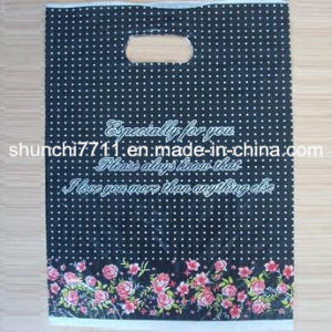 Plastic Colourful Printing Handle Bag pictures & photos