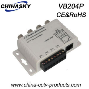 4CH CCTV BNC to RJ45 /Cat-5 CCTV Video Balun (VB204P) pictures & photos